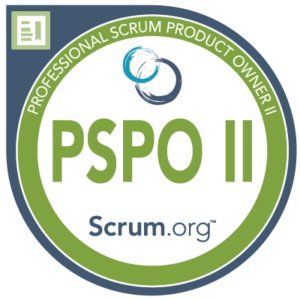 Professional Scrum Product Owner II Certification logo