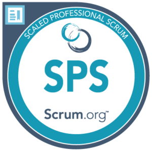 Scaled Professional Scrum with Nexus SPS Certification Logo