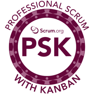 Professional Scrum With Kanban PSK Course Logo