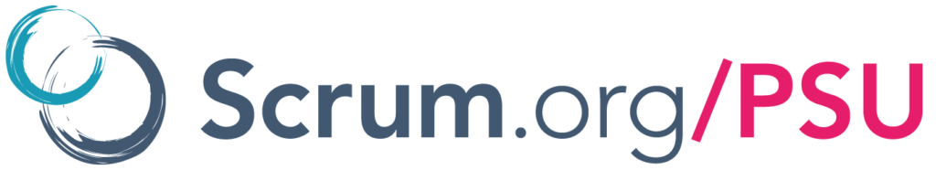 Professional Scrum With User Experience PSU Logo