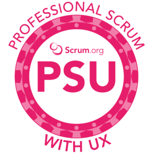 Professional Scrum With User Experience PSU Course Logo